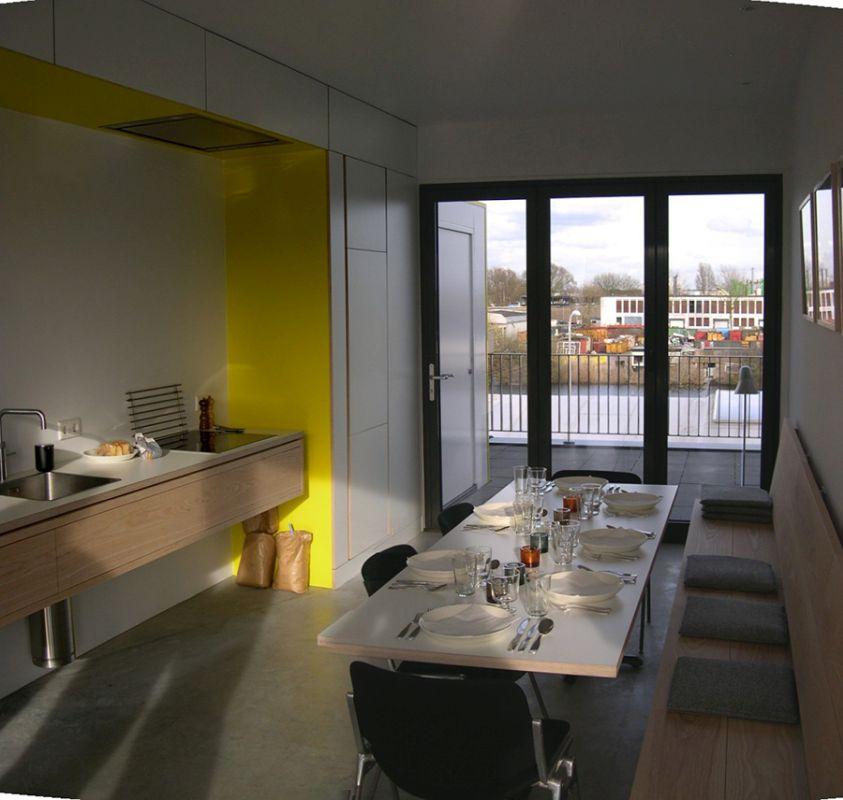 buroduck-front-Havenkwartier-atelierwoning-keuken-terras